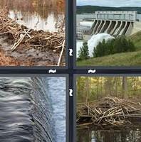 4 Pics 1 Word Dam