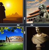 4 Pics 1 Word Empire