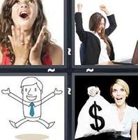 4 Pics 1 Word Euphoric