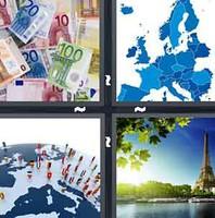 4 Pics 1 Word Europe