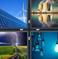 4 Pics 1 Word Electric