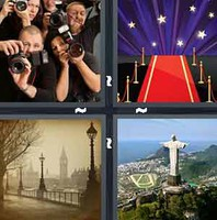 4 Pics 1 Word Famous