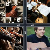 4 Pics 1 Word Musician