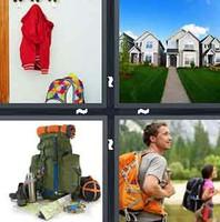 4 Pics 1 Word Backpack