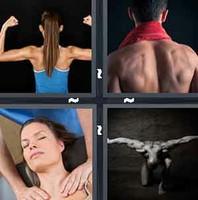 4 Pics 1 Word Shoulder