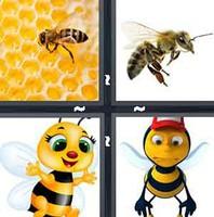 4 Pics 1 Word Bee