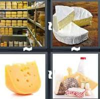 4 Pics 1 Word Cheese