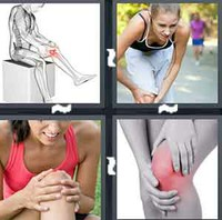 4 Pics 1 Word Knee