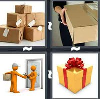 4 Pics 1 Word Levels Parcel