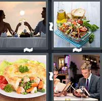 4 Pics 1 Word Levels Dinner