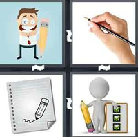 4 Pics 1 Word Levels Pencil