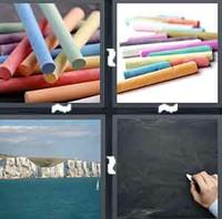 4 Pics 1 Word Levels Crayon