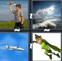 4 Pics 1 Word Levels Flight