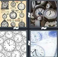 4 Pics 1 Word Levels Clocks