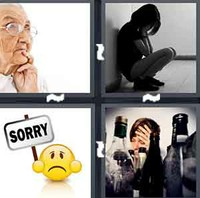 4 Pics 1 Word Regret