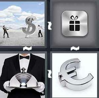 4 Pics 1 Word Levels Silver