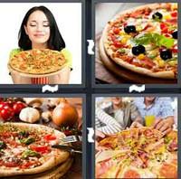 4 Pics 1 Word Levels Pizza