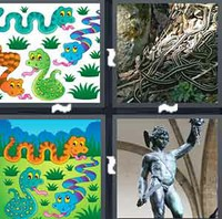 4 Pics 1 Word Levels Snakes
