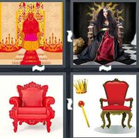 4 Pics 1 Word Levels Throne