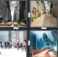 4 Pics 1 Word Levels Street