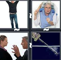 4 Pics 1 Word Temper