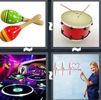 4 Pics 1 Word Levels Rhythm