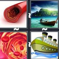 4 Pics 1 Word Levels Vessel