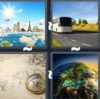 4 Pics 1 Word Levels Journey