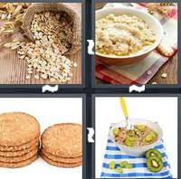 4 Pics 1 Word Levels Oatmeal