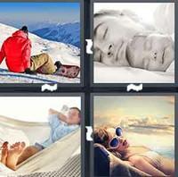 4 Pics 1 Word Rest