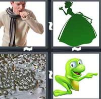 4 Pics 1 Word Frog