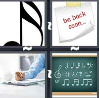 4 Pics 1 Word Note