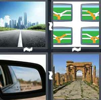 4 Pics 1 Word Road