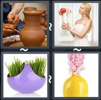 4 Pics 1 Word Vase