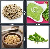 4 Pics 1 Word Peas