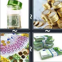 4 Pics 1 Word Cash