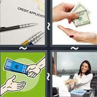 4 Pics 1 Word Lend