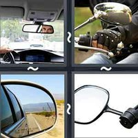 4 Pics 1 Word Rearview