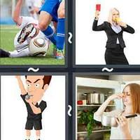 4 Pics 1 Word Foul