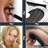 4 Pics 1 Word Eyeliner