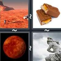 4 Pics 1 Word Mars