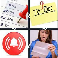 4 Pics 1 Word Reminder