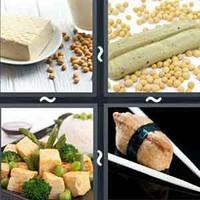 4 Pics 1 Word Tofu