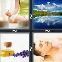4 Pics 1 Word Calm