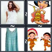 4 Pics 1 Word Levels Fringed