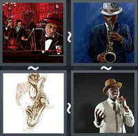 4 Pics 1 Word Levels Jazz