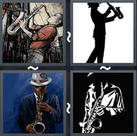 4 Pics 1 Word Levels Sax