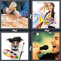 4 Pics 1 Word Levels Artist