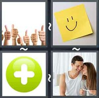 4 Pics 1 Word Levels Positive