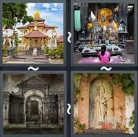 4 Pics 1 Word Levels Shrine